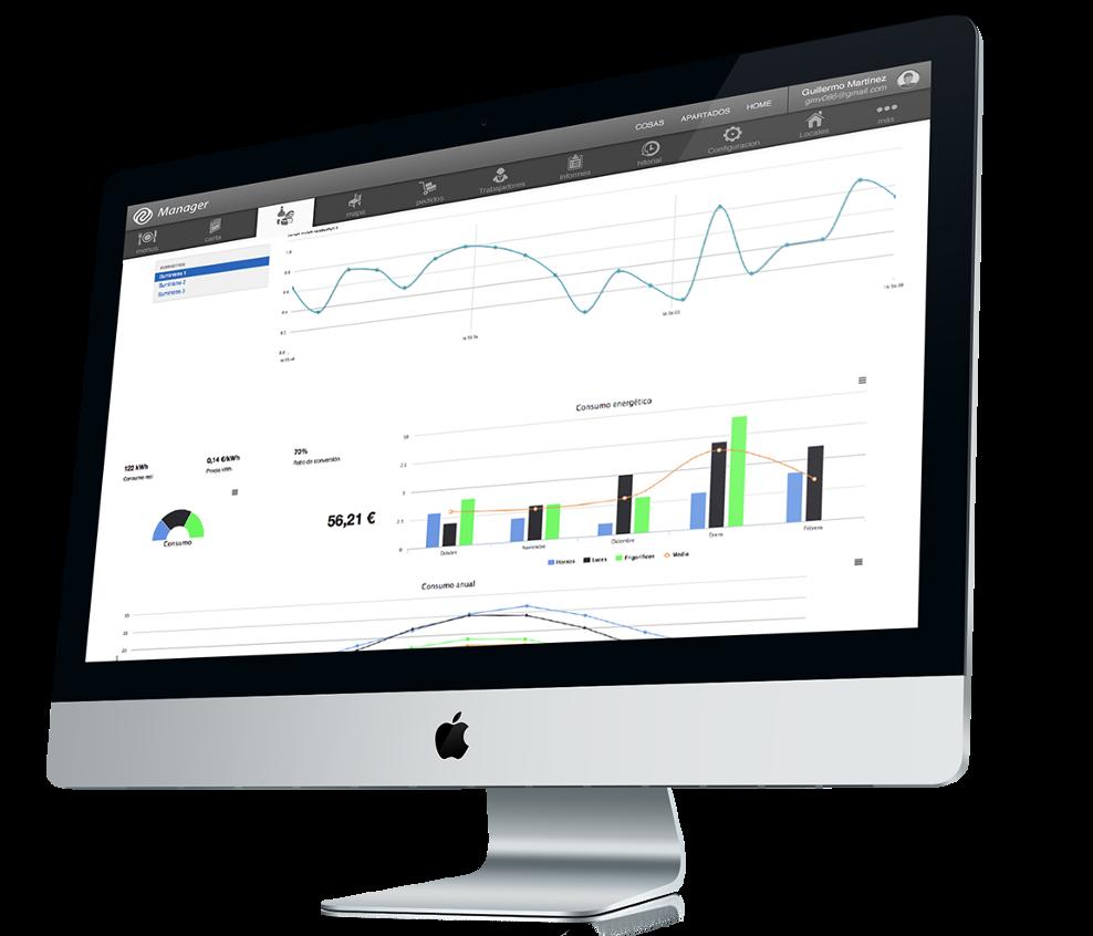 App TPV en iPad / Manager en Mac