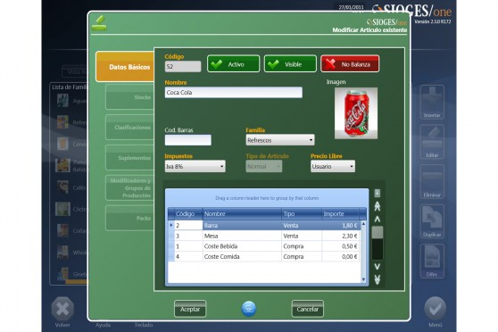 Ficha Artículo Software Sioges