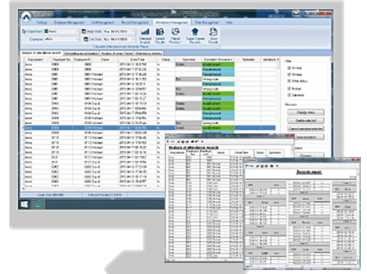 Control de presencia - Software Crosschex